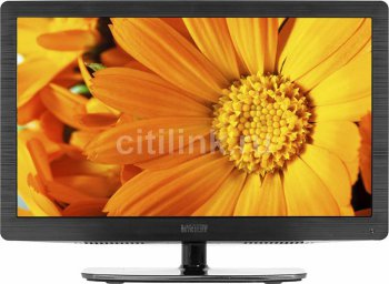 "Телевизор-LCD 19"" Mystery M-1922LW Dark Metallic HD READY USB (RUS)"