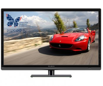 "Телевизор-LCD Rubin 19"" RB-19SE7T2C черный/HD READY/60Hz/DVB-T/DVB-T2/DVB-C/USB (RUS)"