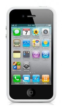Чехол Apple для Apple iPhone 4/4S MC668ZM/B белый (MC668ZM/B)