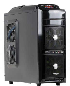 Корпус Gigabyte GZ-G2 PLUS, ATX, черный, без БП