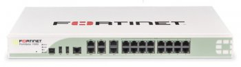 Межсетевой экран Fortinet FG-100D 20 x GE RJ45 ports (including 1 x DMZ port, 1 x Mgmt port, 2 x HA port, 16 x internal switch ports), 2 x sha