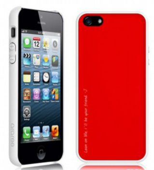 Чехол Araree для iPhone 5 Amy 1+1 Poppy Red