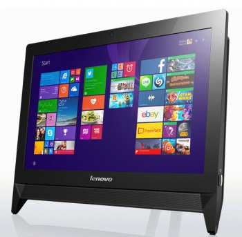 "Моноблок Lenovo c20-05 19.5"" 1920x1080 A4 6210/4Gb/500Gb/DVDRW/Windows 8.1/клавиатура/мышь/Cam/черный"