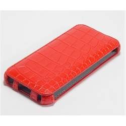 Чехол Armor-X для Galaxy S 5 flip Crocodile red