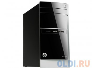 Системный блок HP Pavilion 500-401nr DT i3 4160/4Gb/500Gb/GF705 1Gb/DVDRW/Windows 8.1 64/клавиатура/мышь