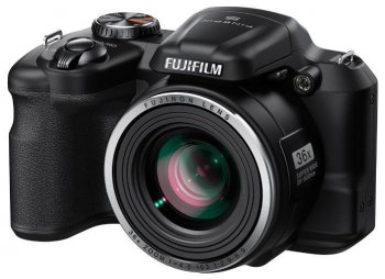 "Фотокамера FujiFilm FinePix S8600 black 16Mpix Zoom36x 3"" 1080p SDHC BSI-CMOS IS opt VF HDMI AA"
