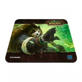 Коврик для мыши SteelSeries QcK WOW Mists Panda Forest edition 67261 черный