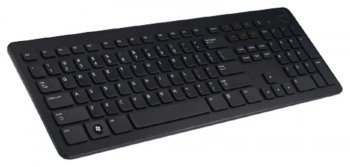 Клавиатура Dell KB213 черный USB Multimedia