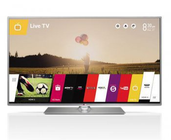 "Телевизор-LCD LG 50"" 50LB650V titan FULL HD 3D 500(100Hz) WiFi DVB-T2/C/S2 (RUS) Smart Skype ready, очки"