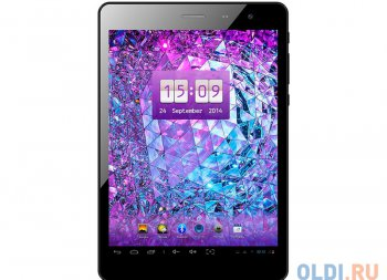 "Планшетный компьютер Explay Art 3G Черный 7.85"" IPS 1024x768, Android 4.2.2, CPU Quad MTK8389, 1G/16G, WiFi, 3G, GPS, BT, 0.3 MP/2.0 MP, 4100 mAh"
