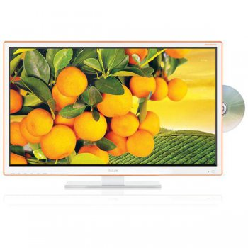 "Телевизор-LCD 22"" BBK 22LED-6094/FT2C white FULL HD DVD USB DVB-T2 (RUS)"
