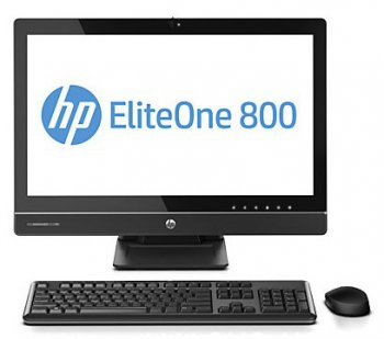 "Моноблок HP EliteOne 800 23"" IPS Touch i5 4570/1x4Gb/500Gb/DVDRW/MCR/W8Pro64/WiFi/клавиатура/мышь /2013 Tilt/Swivel/Recline/HAS 800/600"