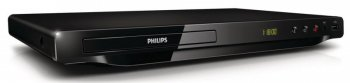 Плеер DVD Philips DVP3650K/51 черный
