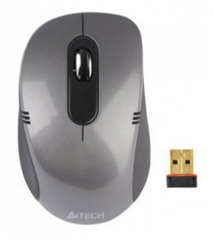 Мышь беспроводная A4-Tech Tech G7-630D Grey Holeless Wireless USB