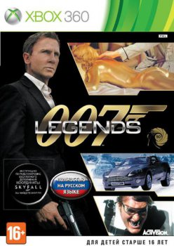 Игра для Xbox Legends 007 (117320)