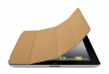 Чехол Apple iPad Smart Cover Leather Tan MD302ZM/A