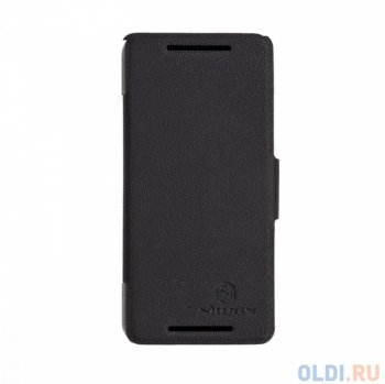 Чехол для смартфона HTC 601E (ONE Mini M4) Nillkin Fresh Series Leather Case Черный