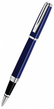 Ручка роллер Waterman Exception Slim Blue ST Fblack (S0637150 TF)