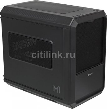 Корпус Zalman ZM-M1 черный w/o PSU miniITX 2x120mm 1x140mm 2xUSB3.0 audio bott PSU