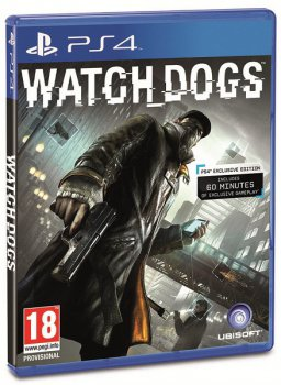 Игра для PS4 Soft Disk Watch_Dogs русская версия