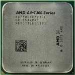 Процессор AMD A4 7300 Socket-FM2 (AD7300OKHLBOX) (3.8GHz/5000MHz/1Mb/AMD Radeon HD 8470D) Box