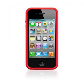 Чехол Apple для Apple iPhone 4/4S MD503ZM/B красный (MD503ZM/B )