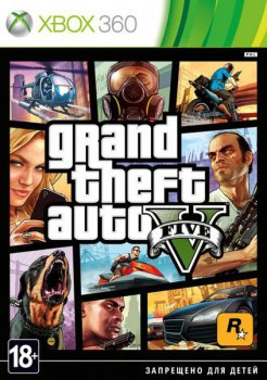 Игра для Xbox Microsoft Grand Theft Auto V русские субтитры