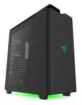 Корпус NZXT H440 Razer черный/зеленый w/o PSU ATX 7x120mm 5x140mm 2xUSB2.0 2xUSB3.0 audio bott PSU