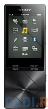 Плеер MP3 Sony NWZ-A15 МР3 , Hi-Res 16GB, NFC, BT, черный