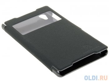 Чехол для смартфона Sony Xperia Z2 (L50/D6503) Nillkin Fresh series leather case Черный