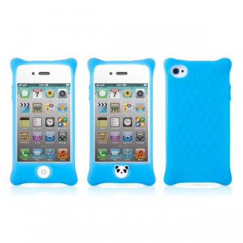 Чехол Bone для iPhone4S Bubble lt.blue (PH11011-B)
