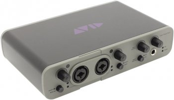 Звуковая карта Avid Fast Track Duo+ Pro Tools Express (Analog 2in/2out, 24Bit/48kHz, U)