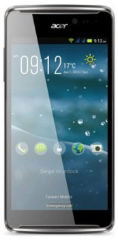"Смартфон Acer Liquid E600 темно-красный моноблок 3G 4G 5"" 480x854 Android 4.4 8Mpix WiFi BT GPS GSM900/1800 GSM1900 TouchSc MP3 4Gb microSD"