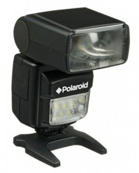 Фотовспышка Polaroid PL160 Dual Power Zoom Canon