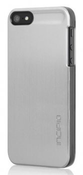 Чехол Incipio для iPhone 5 Feather Shine Titanium Silver