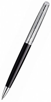 Ручка шариковая Waterman Hemisphere Deluxe Black CT Mblue (S0921150)