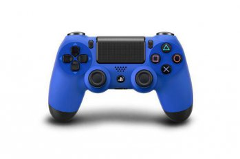 Джойстик Sony PlayStation 4 PS719201595 Dualshock синий