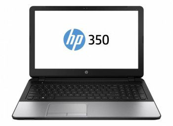 "Ноутбук hp 350 Core i5 5200U/4Gb/500Gb/DVD-RW/15.6""/HD (1366x768)/Windows 8.1 Professional dwnW7Pro64/black/WiFi/BT/Cam/Bag"