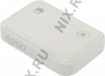 Маршрутизатор Huawei <E5730s-2 White> 3G Mobile Wi-Fi router + PowerBank (802.11b/g/n, 5200mAh, слот для сим-карты)