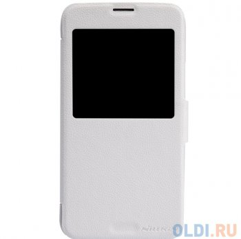 Чехол для смартфона Samsung GALAXY S5 (G900) Nillkin Fresh series leather case Белый