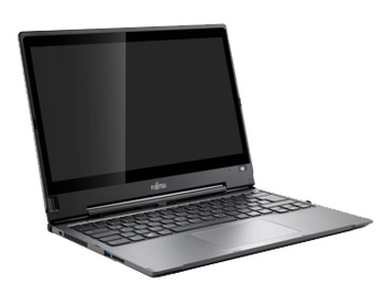 "Ноутбук Fujitsu LIFEBOOK T904 Core i5-4200U/4Gb/500Gb/16Gb SSD/int/13.3""/WQHD/Touch/2560x1440/Win 8.1 Professional 64/black/BT4.0/WiFi/6c/WiFi/Cam"