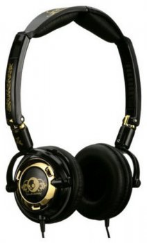 Наушники Skullcandy LOWRIDER Black/Gold 2010
