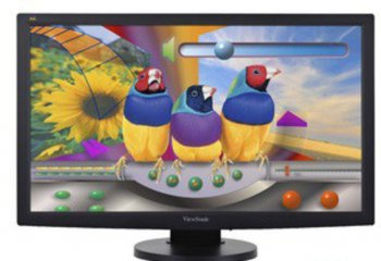 "Монитор 23.6"" ViewSonic VG2433-LED Black 1920x1080, 5ms, 300 cd/m2, 1000:1 (DCR 20M:1), D-Sub, DVI, HAS, Pivot"