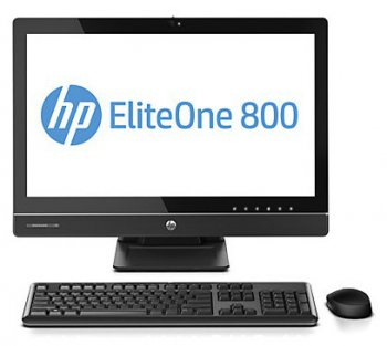 "Моноблок HP EliteOne 800 23"" IPS Touch i3 4130/1x4Gb/500Gb/DVDRW/MCR/W8Pro64dng/WiFi/клавиатура/мышь /2013 Tilt/Swivel/Recline/HAS 800/600"