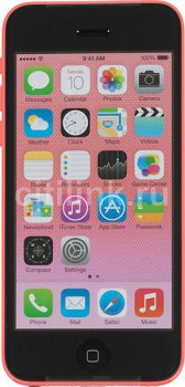 "Смартфон Apple iPhone 5c MG922RU/A 8Gb розовый моноблок 3G 4G 4"" 640x1136 iPhone iOS 7 8Mpix WiFi BT GSM900/1800 GSM1900 TouchSc MP3 8Gb A-GPS"