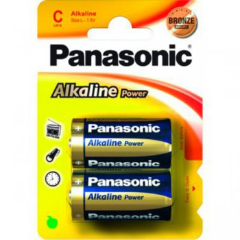 Батарейка Panasonic Power Bronze C (2шт. уп)
