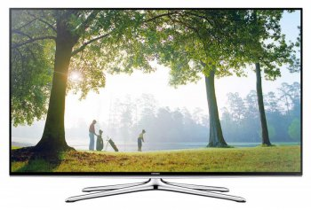 "Телевизор-LCD 60"" Samsung UE60H6200AK black FULL HD 3D USB WiFi DVB-T2 (RUS) Smart , 200CMR, 3D sound"