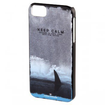Чехол Tom Tailor для iPhone 5/5S Keep calm черный (00115880)