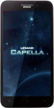 "Смартфон LEXAND S5A3 Capella 5"" no-air IPS Full HD 1920x1080, MTK6589 Cortex A7 1.2ГГц, Android 4.2, 2 Sim, 3G/Wi-Fi/BT 3.0/ GPS, 4Гб, 13Мп, фронт 2Мп"