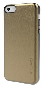Чехол Incipio для iPhone 5c Feather Shine золотой (IPH-1143-GLD)